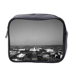 Vintage USA Washington Capitol overview 1970 Twin-sided Cosmetic Case