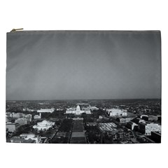 Vintage USA Washington Capitol overview 1970 Cosmetic Bag (XXL)