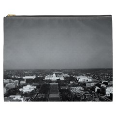 Vintage Usa Washington Capitol Overview 1970 Cosmetic Bag (xxxl)