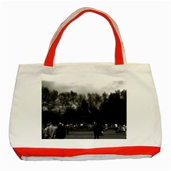 Vintage USA Washington Park 1970 Red Tote Bag
