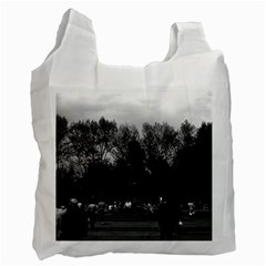 Vintage USA Washington Park 1970 Single-sided Reusable Shopping Bag