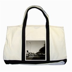 Vintage Usa Washington The Capitol 1970 Two Toned Tote Bag