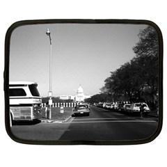 Vintage USA Washington The Capitol 1970 12  Netbook Case