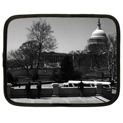 Vintage USA Washington The Capitol 1970 12  Netbook Case