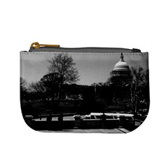 Vintage USA Washington The Capitol 1970 Coin Change Purse