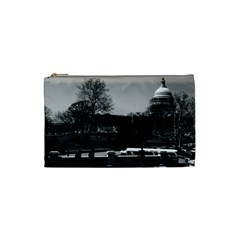 Vintage USA Washington The Capitol 1970 Small Makeup Purse
