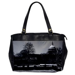 Vintage Usa Washington The Capitol 1970 Single Sided Oversized Handbag