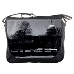 Vintage Usa Washington The Capitol 1970 Messenger Bag