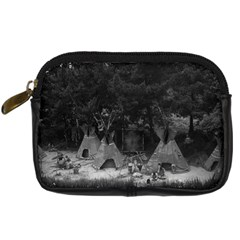 Vintage USA California disneyland Indian camp 1970 Compact Camera Case