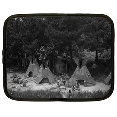 Vintage USA California disneyland Indian camp 1970 15  Netbook Case