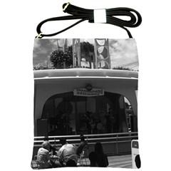 Vintage California Disneyland Entertainment Committee Cross Shoulder Sling Bag