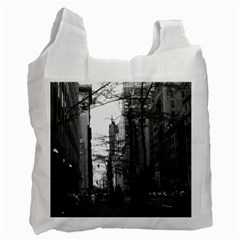 Vintage Usa Washington Street 1970 Single Sided Reusable Shopping Bag