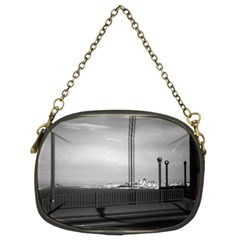 Vintage USA California San Francisco Golden Gate Bridge Twin-sided Evening Purse