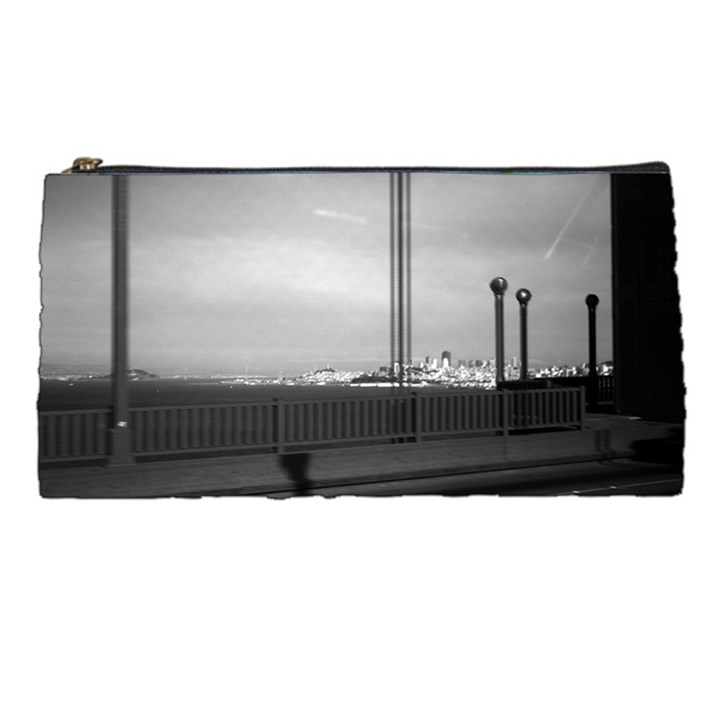 Vintage USA California San Francisco Golden Gate Bridge Pencil Case