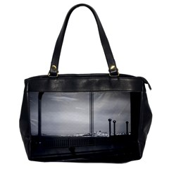 Vintage USA California San Francisco Golden Gate Bridge Single-sided Oversized Handbag