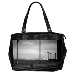 Vintage USA California San Francisco Golden Gate Bridge Twin-sided Oversized Handbag