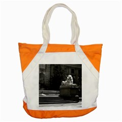 Vintage USA New York city public library 1970 Snap Tote Bag