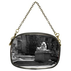 Vintage USA New York city public library 1970 Twin-sided Evening Purse