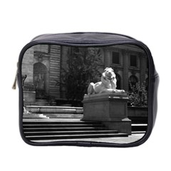 Vintage USA New York city public library 1970 Twin-sided Cosmetic Case