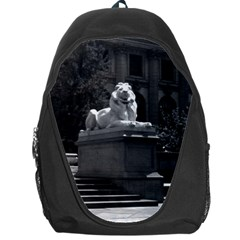 Vintage Usa New York City Public Library 1970 Backpack Bag