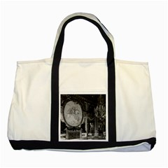 Vintage France palace of versailles The hall of war Two Toned Tote Bag
