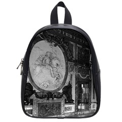 Vintage France palace of versailles The hall of war Small School Backpack