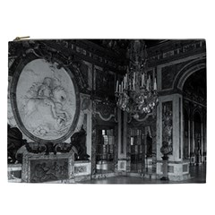Vintage France Palace Of Versailles The Hall Of War Cosmetic Bag (xxl)