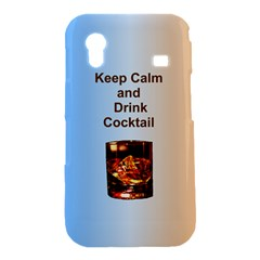 Keep Calm And Drink Cocktail Samsung Galaxy Ace S5830 Hardshell Case
