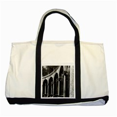 Vintage France palace of Versailles Colonnade Grove Two Toned Tote Bag