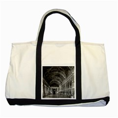 Vintage France palace of versailles mirrors galery 1970 Two Toned Tote Bag