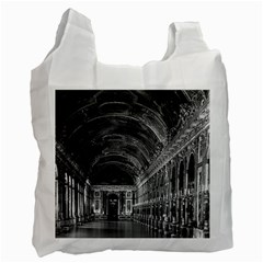 Vintage France palace of versailles mirrors galery 1970 Twin-sided Reusable Shopping Bag