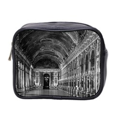 Vintage France palace of versailles mirrors galery 1970 Twin-sided Cosmetic Case