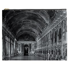 Vintage France palace of versailles mirrors galery 1970 Cosmetic Bag (XXXL)