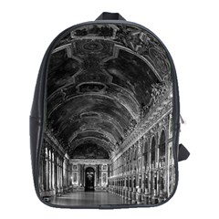 Vintage France palace of versailles mirrors galery 1970 School Bag (XL)