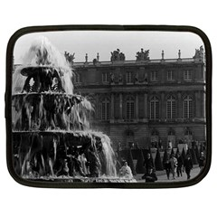 Vintage France Palace Of Versailles Pyramid Fountain 12  Netbook Case