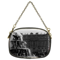Vintage France palace of Versailles Pyramid fountain Single-sided Evening Purse