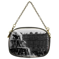 Vintage France palace of Versailles Pyramid fountain Twin-sided Evening Purse