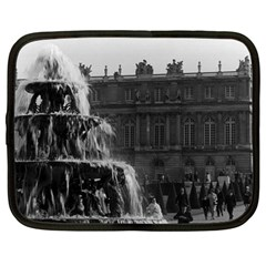 Vintage France palace of Versailles Pyramid fountain 13  Netbook Case