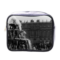 Vintage France palace of Versailles Pyramid fountain Single-sided Cosmetic Case