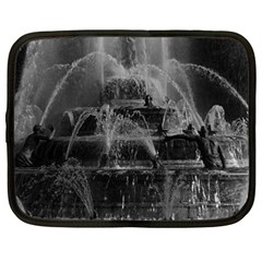 Vintage France Palace Of Versailles Latona Fountain 15  Netbook Case