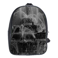 Vintage France palace of Versailles Latona Fountain Large School Backpack