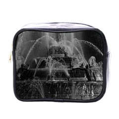 Vintage France palace of Versailles Latona Fountain Single-sided Cosmetic Case