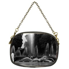 Vintage France palace of Versailles neptune fountains Twin-sided Evening Purse