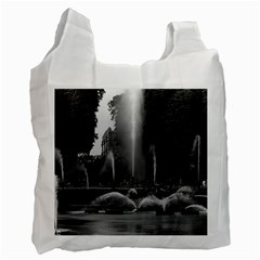 Vintage France palace of Versailles neptune fountains Twin-sided Reusable Shopping Bag
