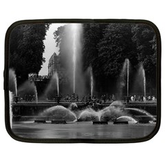 Vintage France palace of Versailles neptune fountains 15  Netbook Case