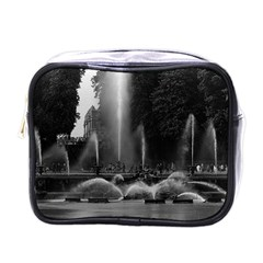 Vintage France palace of Versailles neptune fountains Single-sided Cosmetic Case