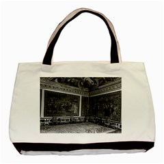 Vintage France Palace Of Versailles Apollo Chambre 1970 Black Tote Bag