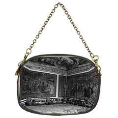 Vintage France Palace Of Versailles Apollo Chambre 1970 Single Sided Evening Purse