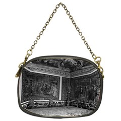 Vintage France palace of Versailles Apollo chambre 1970 Twin-sided Evening Purse