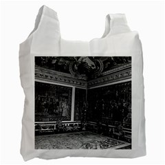 Vintage France palace of Versailles Apollo chambre 1970 Single-sided Reusable Shopping Bag